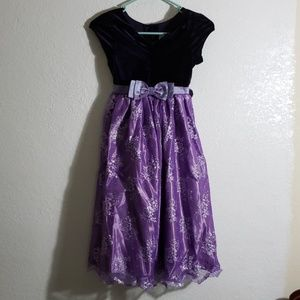 Purple Size 8 Girls dress